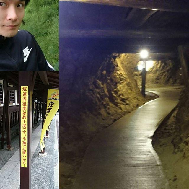 #佐渡金山 は、長袖ジャージだけじゃ寒い!なめてたっす!冬だよ!ここは冬! #さむねこさんぽ #散歩 #一人旅