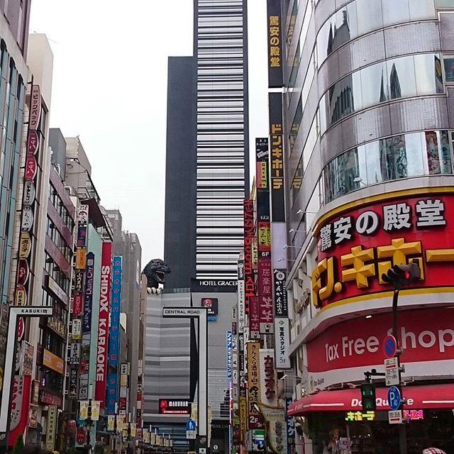 #歌舞伎町 方面へ行きましょうね。 #シティーハンター の続編 #エンジェルハート の舞台もここでしょ? #冴羽獠 氏はどこにゃ?