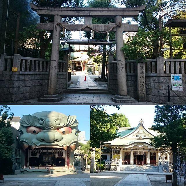 #八阪神社 #勝利 の #パワースポット 何か #招き猫 の関連キーワードが出てくるから、招き猫も関係があるっぽい #さむねこさんぽ