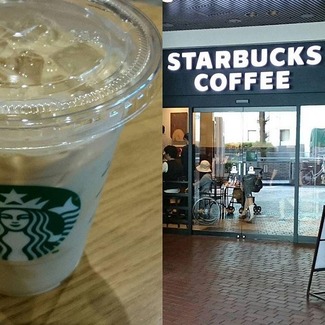 #大阪マルビル の #スターバックスコーヒー で残り時間の #作戦会議 #スターバックスラテ の #グランデ 位がちょうどいい #さむねこさんぽ