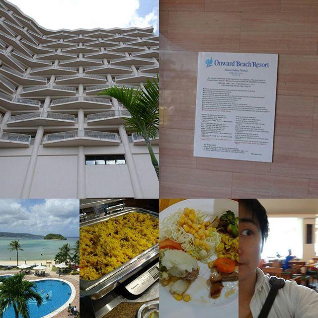 #初めてのグアム #バスツアー の お昼は #ホテルビュッフェ ですにゃ。朝食も食べほだったから… 昼も食べほだとさ… お腹一杯だわ… #guam #lunch