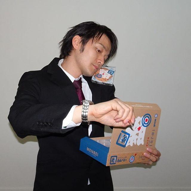 #福岡 #めんべい 氏が足跡残しててインスタページみたら #イケメンベイ ってのやっててね… そういうわけです。いけてるにゃ!
