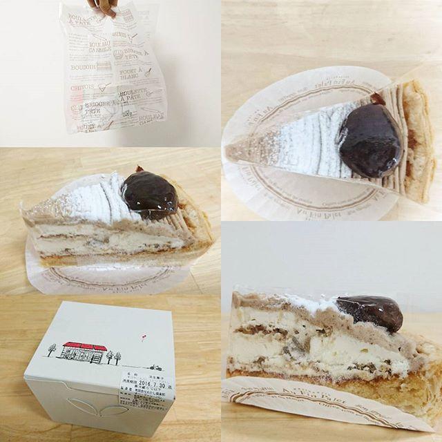 #武蔵小山 #モンブランケーキ #オーファンパレ ですな。パイ生地の上にさっぱり系のモンブランクリームですな。モンブラン記事をアップしてから初めてのパイ生地タイプだね。まぁ美味しいけども、細かいポロポロを出さずに食べるのが難しいね。タルトのフルーツケーキが沢山あって今イチオシの白桃タルトがすげぇ美味しそうでしたがモンブランにしましたとさ… #侍猫度3 #侍猫さんとモンブラン #嫁探しの旅