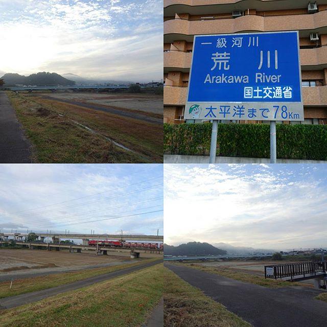 福島駅周辺の散歩 ここって荒川だったのね!しかも荒川河川敷の使い方は東京とおなじやね #侍猫さんぽ