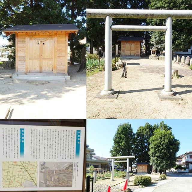 福島駅周辺の散歩 #水雲神社 #五穀豊穣 のパワースポットですな。解説読んでももやっとした感じの仕上がりになるくらい放置だったのかな?グッとくるね #侍猫さんぽ