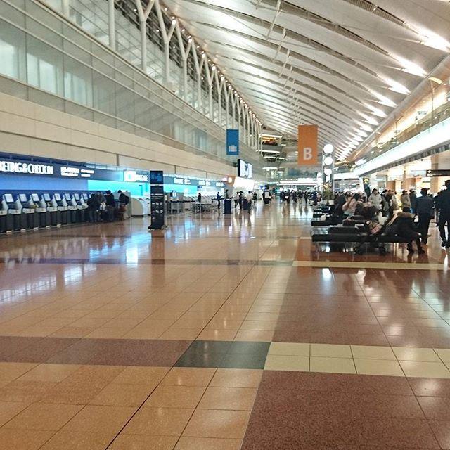 羽田空港第2ターミナルの2階だよ。B1より空いてるね!いろいろのやつは、2階がいいね。