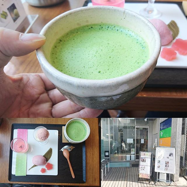 #お抹茶部 #原宿 #茶茶の間 久しぶりのお抹茶部ができましたな。今回は春が近いから限定の春の和菓子抹茶セットにしたよ。 ここの抹茶は苦味が少なく癖がない飲みやすいやつだね。ここの桜餅は甘くなくてビビる。いろんな日本茶があって飲み比べができるよ。 #抹茶部 #お抹茶 #お抹茶処 #茶道部 #抹茶 #お抹茶 #お抹茶処 #greentea #matcha #greentea #sweets #japanesesweet #wagashi #東京