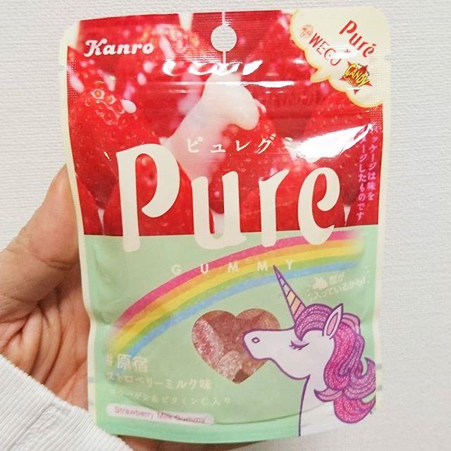 #いちご牛乳クラブ #ストロベリーミルク味 #ピュレグミ ちゃんと苺の酸味が強めのやつ!もう少し激甘でミルク強いのが好みだねぇ。 #イチゴオレ #いちごオレ #いちご牛乳 #イチゴ牛乳 #苺牛乳 #牛乳 #スイーツ #メソギア派 #銀魂 #糖分 #strawberrymilk