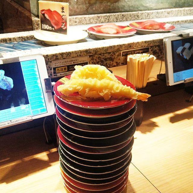 ひさしぶりの寿司だね#寿司 #回転寿し #sushi